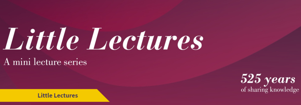 University of Aberdeen: Little Lectures
