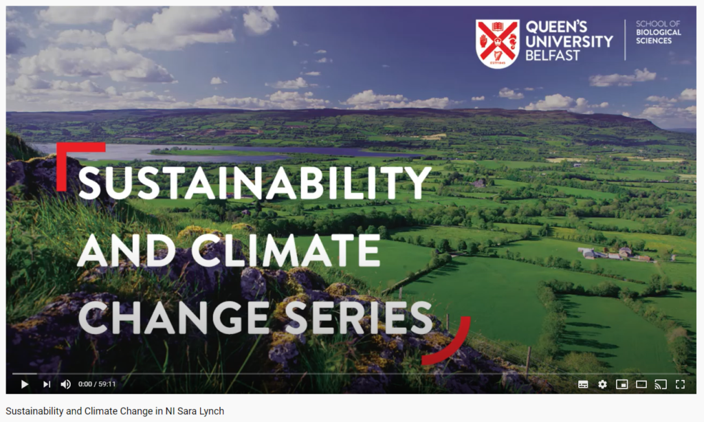 Sustainability and Climate Change in NI