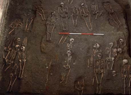 Inequality in medieval city 'recorded on the bones' of residents