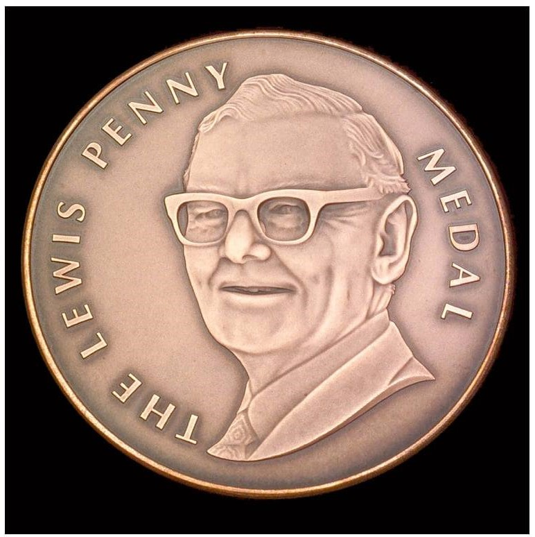 Dr Andrew Newton is Awarded the Lewis Penny Medal 2020